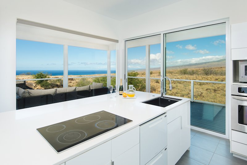 A True Chefu0027s Kitchen With OCEAN VIEWS! 6 Burner Miele Cooktop, Fisher U0026  Paykel Double Dishwasher, White Quartz Countertops Coordinate Perfectly  With The ...