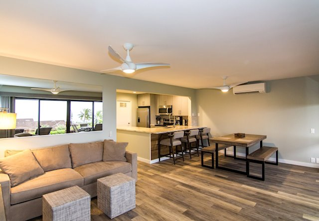 Remodeled Kaanapali Condo With Ocean and Island Views