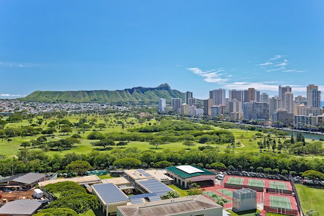 Unobstructed Diamond Head, Golf Course, and Waikiki Views