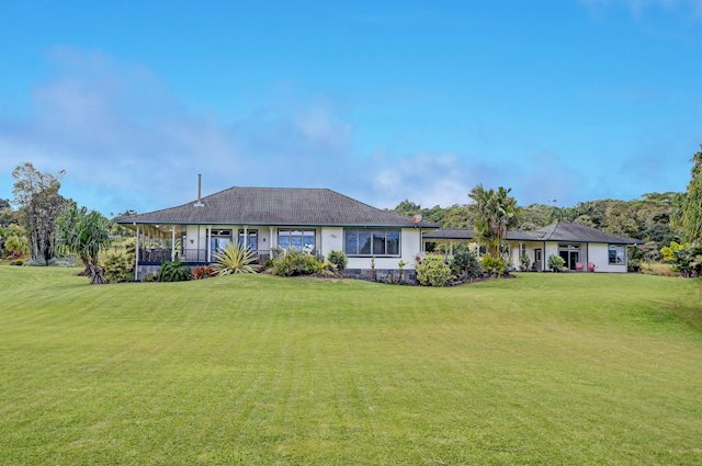 Fully Renovated, Ocean-View Hilo Home on 5 Acres