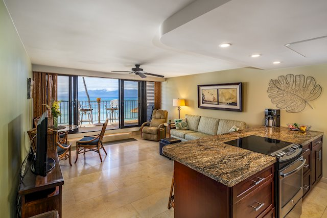Oceanfront, Vacation-Rentable Condo With Million-Dollar Views