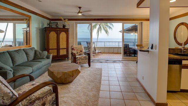 Watch Whales, Turtles, and Sunrises From Your Oceanfront Lanai